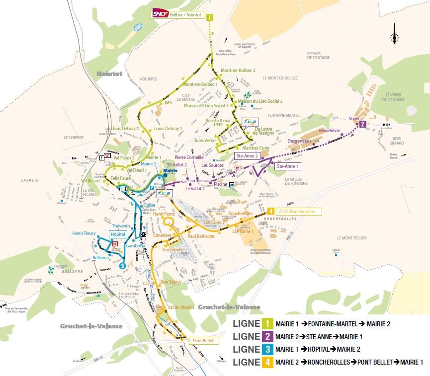 Transport Urbain Bolbécais TUB