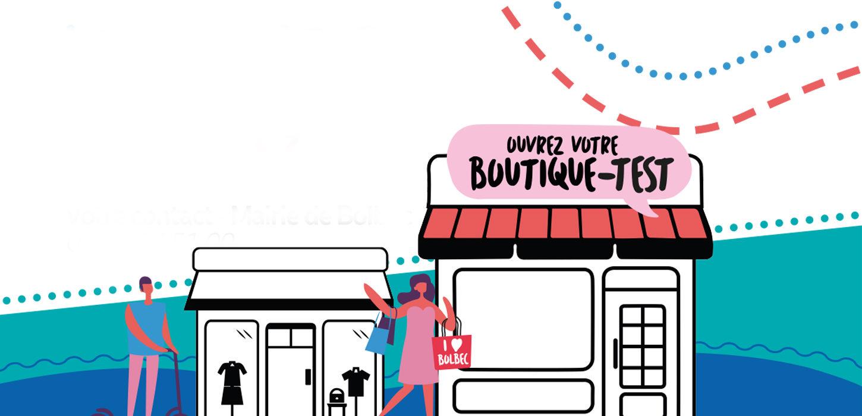 Testez votre boutique à Bolbec !