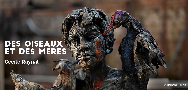 La sculptrice Cécile Raynal expose à Bolbec