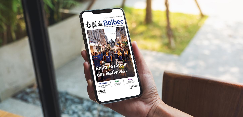 Le Fil de Bolbec#79 - Septembre Octobre Novembre 2021
